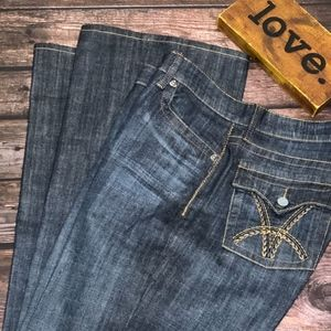 KUT from the KLOTH Bootcut Jeans RN 58539 ~ SZ 14